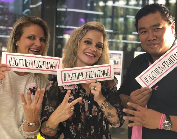 Astrid, Alexia et Jean-Claude présentent leurs hashtags