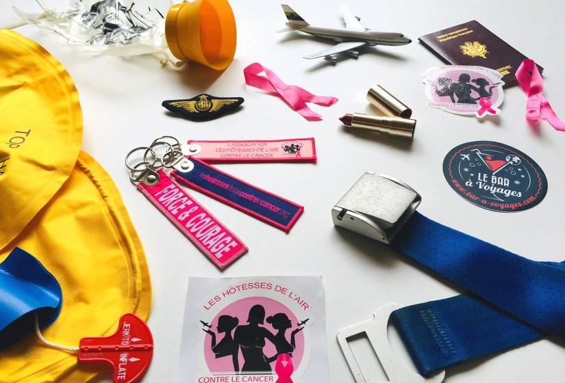 Les hotesses de l'air contre le cancer - blog Bar a Voyages
