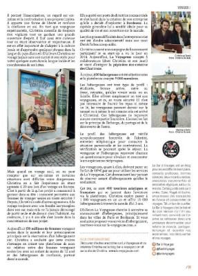 page 2 article La Voyageuse magazine MaVilleAMoi n°48