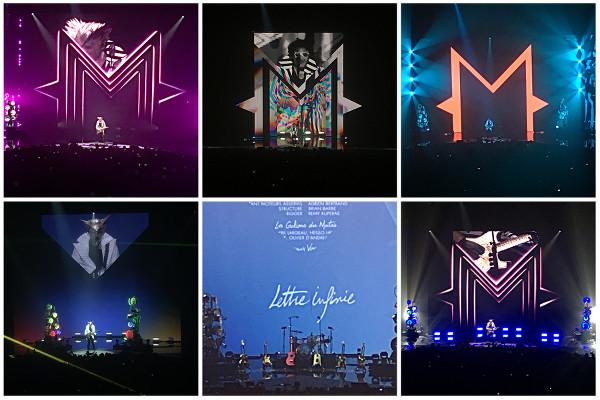 extraits du concert de -M- Matthieu Chedid