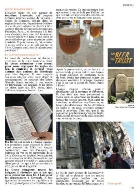 page 2 article Echappée Bière magazine MaVilleAMoi n°49