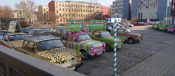 La Trabant, célèbre voiture allemande
