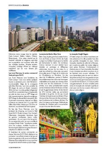 page 3 de l'article sur la Malaisie paru dans le magazine Esprit Berry n°8