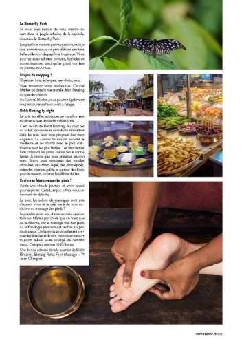page 4 de l'article sur la Malaisie paru dans le magazine Esprit Berry n°8