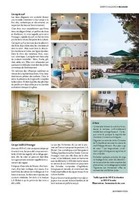 page 2 de l'article sur Hossegor paru dans le magazine Esprit Berry n°9