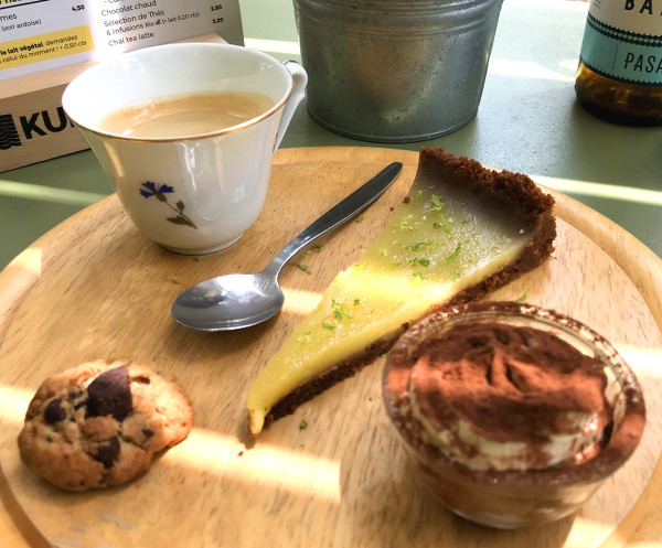 Café gourmand au Chill'in Tartes & Co.