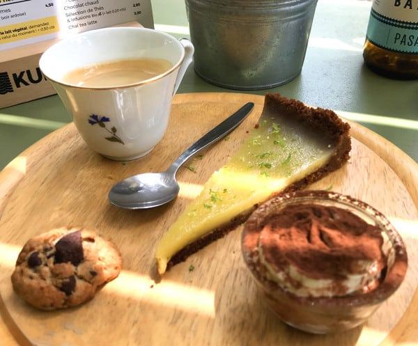 Café gourmand au Chill'in Tartes & Co.