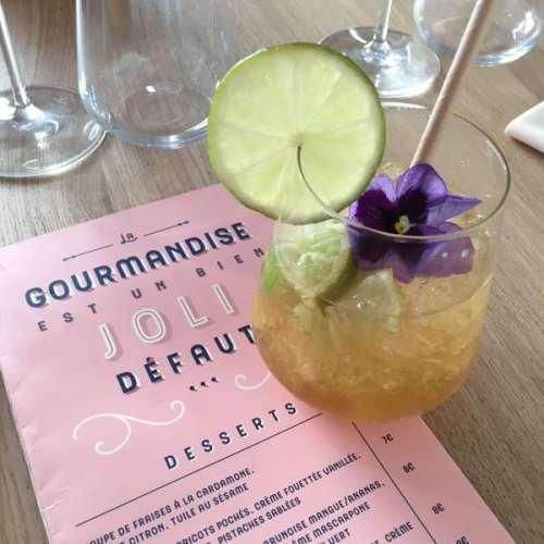 Cocktail et menu au Bistro Balnéaire à Hossegor