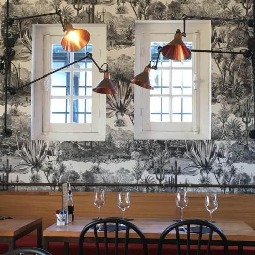 Intérieur et décor du restaurant Tante Jeanne à Hossegor