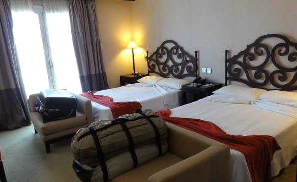 Chambre double de l'hôtel Ibérostar  lors de mon séjour de 4 jours à La Havane
