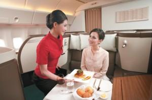 Menù con prodotti italiani da Milano ad Hong Kong