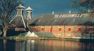Bushmills è una delle distilleria più antiche d'Irlanda