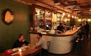 The Barber Shop, a Sydney, è un ambiente dal sapore antico