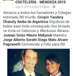 Un ringraziamento speciale di Enea dopo il Congreso Panamericano