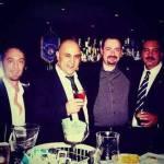 Enea con Mauro Mahjoub Ambasciatore Campari Europa) e Jorge Alberto Soratti