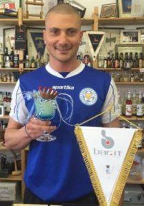 Federico Castracani con il suo Ranieris Cup
