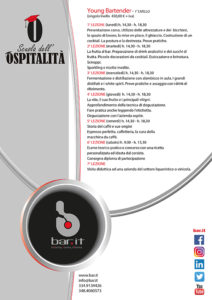 Young Bartender - 1° livello
