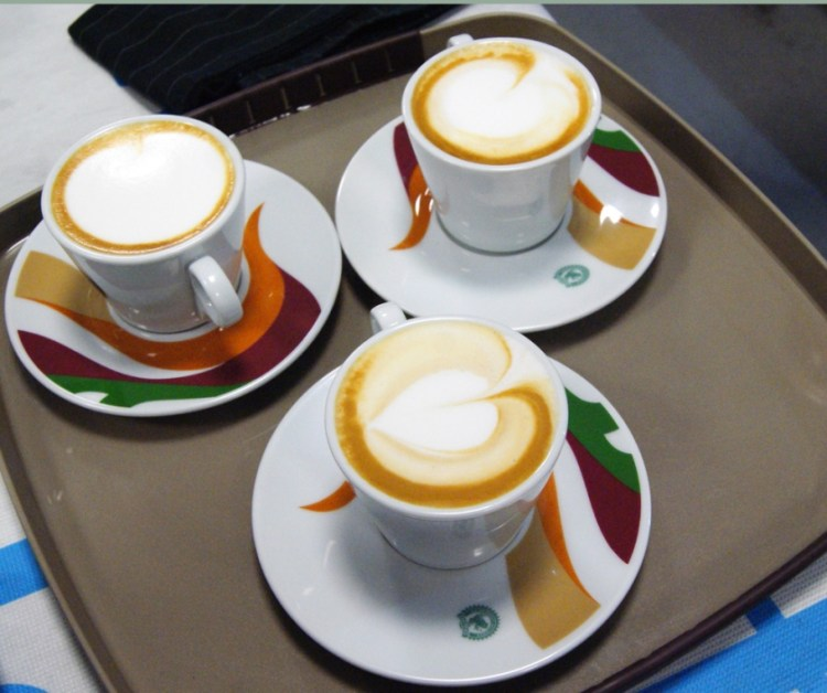 cappuccino e latte art
