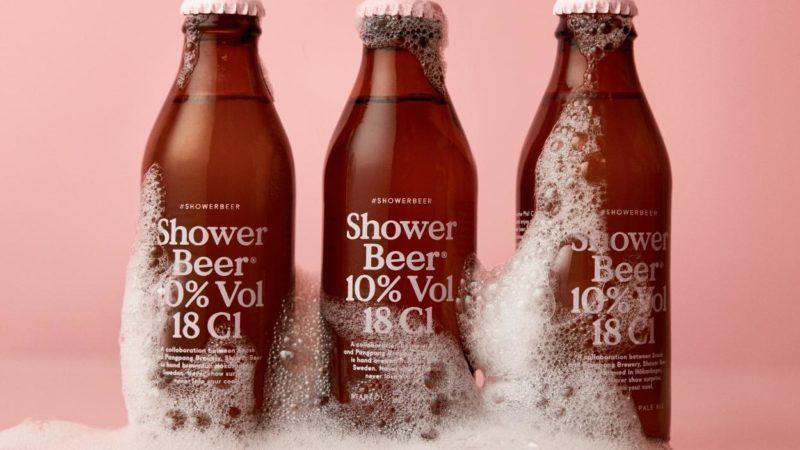 birra per doccia