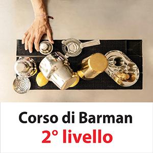21 MAGGIO 2018 CORSO BARMAN 2° LIVELLO