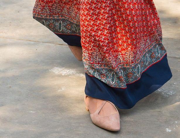 وضع كيت أفضل قدمها إلى الأمام في روسل وبروملي الأحذية