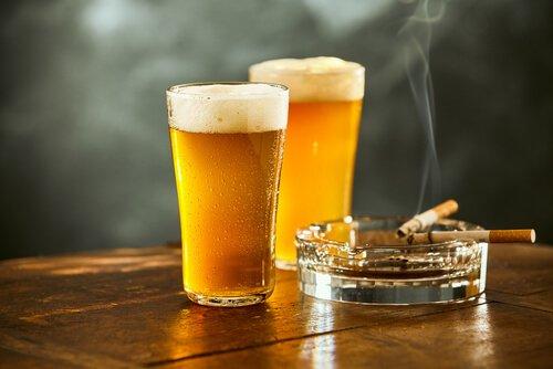اخفض جرعة الكحول أو التبغ