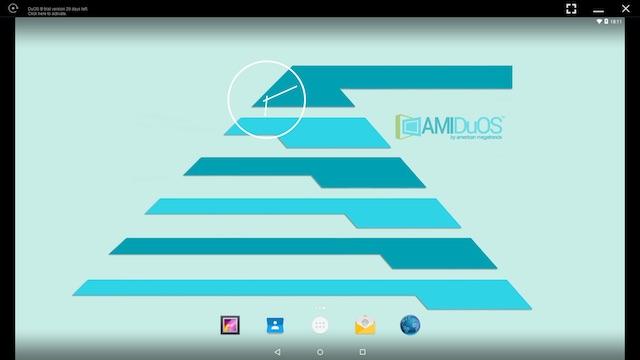 تنزيل AMIDuOS أفضل محاكي Android بنظام التشغيل ويندوز