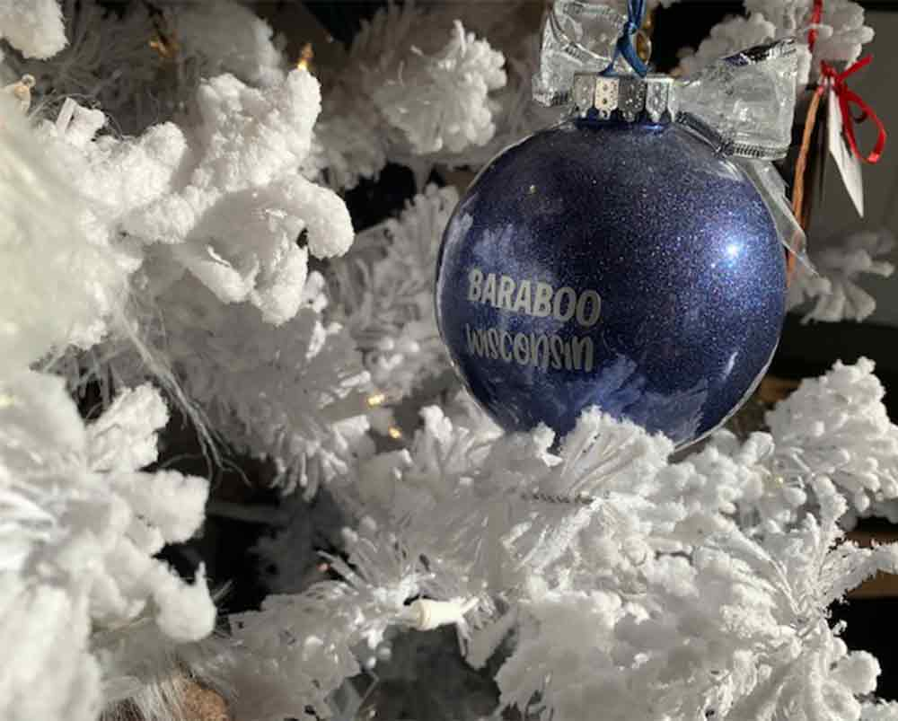 Baraboo Christmas Ornament