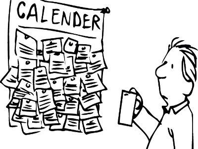 תוכנית עבודה שלב תשיעי: תזמנו את זה