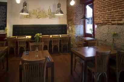 La sala del Bar Amor