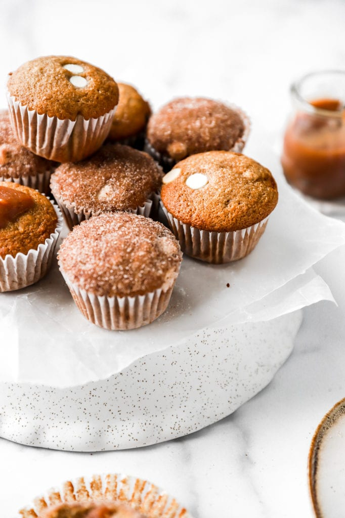 White Chocolate Apple Butter Muffins Baran Bakery