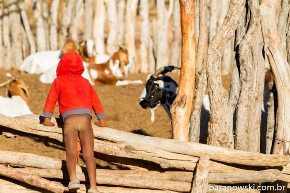 Namíbia - Himba Village