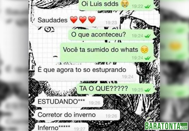 Tá sumido do Whats