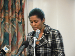 Minister of Labour Dr. Esther Byer-Suckoo