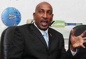Sport Minister Anil Roberts.