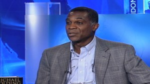 Former West Indies fast bowler Michael Holding.