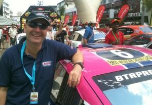 Steve Perez preparing for Sol Rally Barbados in June.