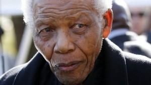 Ailing former South Africa president Nelson Mandela.