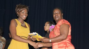 The Principal's Prize was presented to Disa Lewis by Christina Morris.
