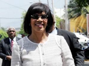 Jamaica Prime Minister Portia Simpson Miller.