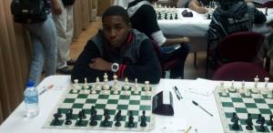 Allon Richards at the PanAm Chess Scholastics.