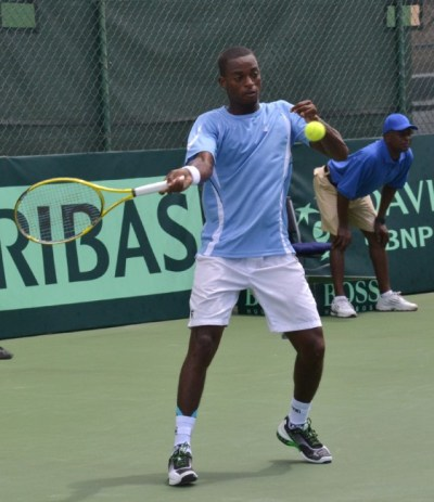 Darian King in action.