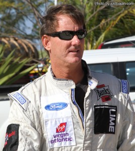 Paul Bourne is seeded number one for Sunday's rally.