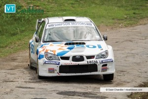 Roger Skeete emerged tops in Sunday's rally.