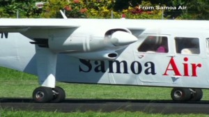 Samoa Air charging passengers by their weight.