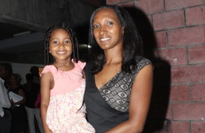 Sharon Moise and daughter Shanice.