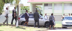 Ministry of Education officials carrying out investigations at Parkinson.