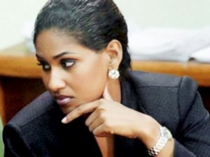 Minister of Youth and Culture, Lisa Hanna.