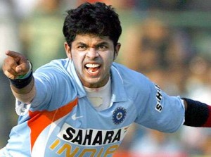 India cricketer Sreesanth.