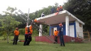 rescue simulation
